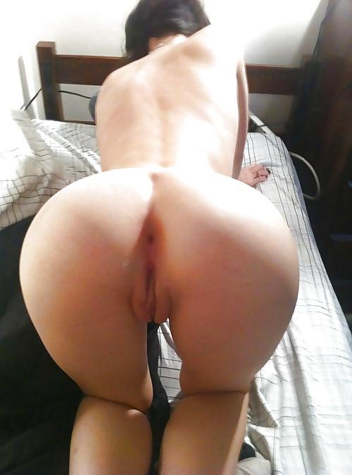 Nackt hintern frau