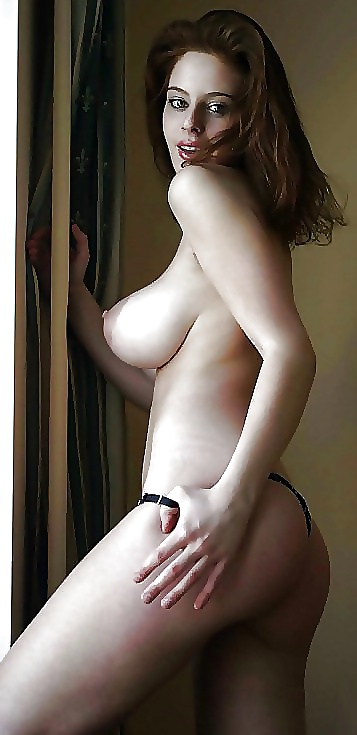 Vollbusige Frau Nackt